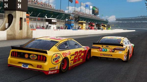 NASCAR Heat 5 Gameplay