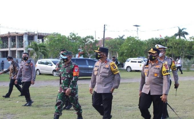 Jajaran Polres Serang Laksanakan Pengamanan Wapres RI Kembali ke Jakarta