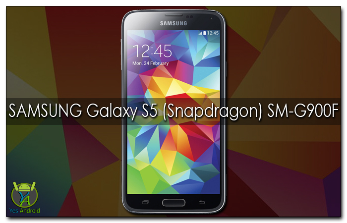 G900FXXS1CQC1 | Samsung Galaxy S5 (Snapddragon) SM-G900F