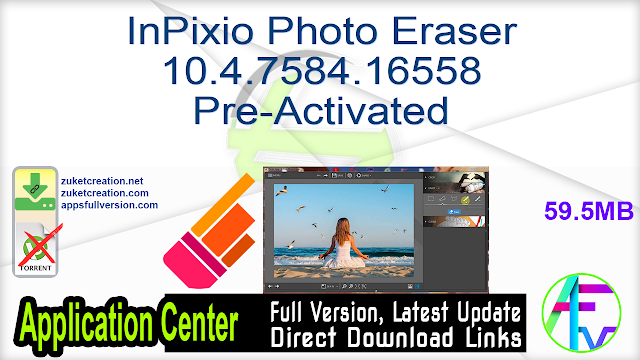 InPixio Photo Eraser 10.4.7584.16558 Pre-Activated