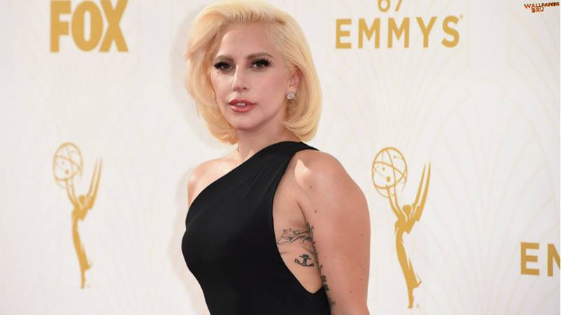 Mujer rubia linda Lady Gaga Fondo de Pantalla 1920x1080 HD