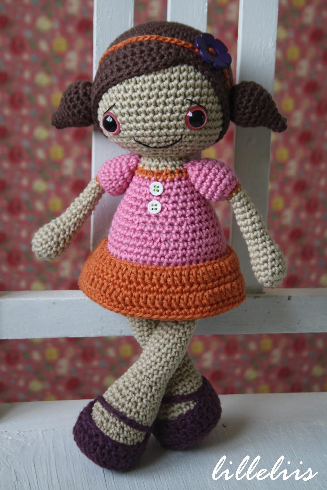Lilleliis Blogspot Com Sofia Heegeldatud Nukk Crochet Doll