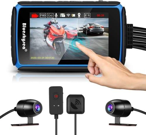 Review Blueskysea 1080p Motorcycle Dashcam Camera