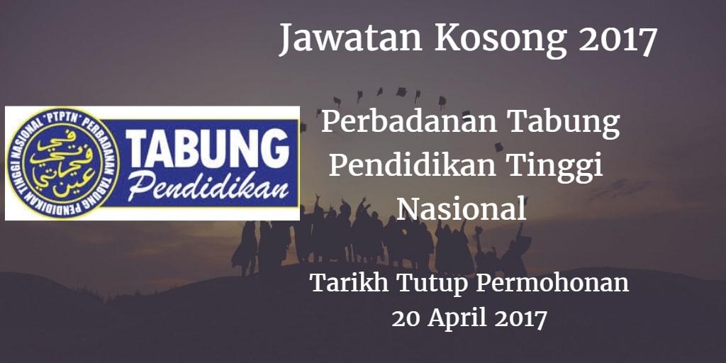 Jawatan Kosong PTPTN 20 April 2017