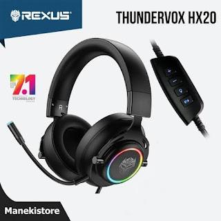 Rexus HX20 Thundervox headset gaming murah