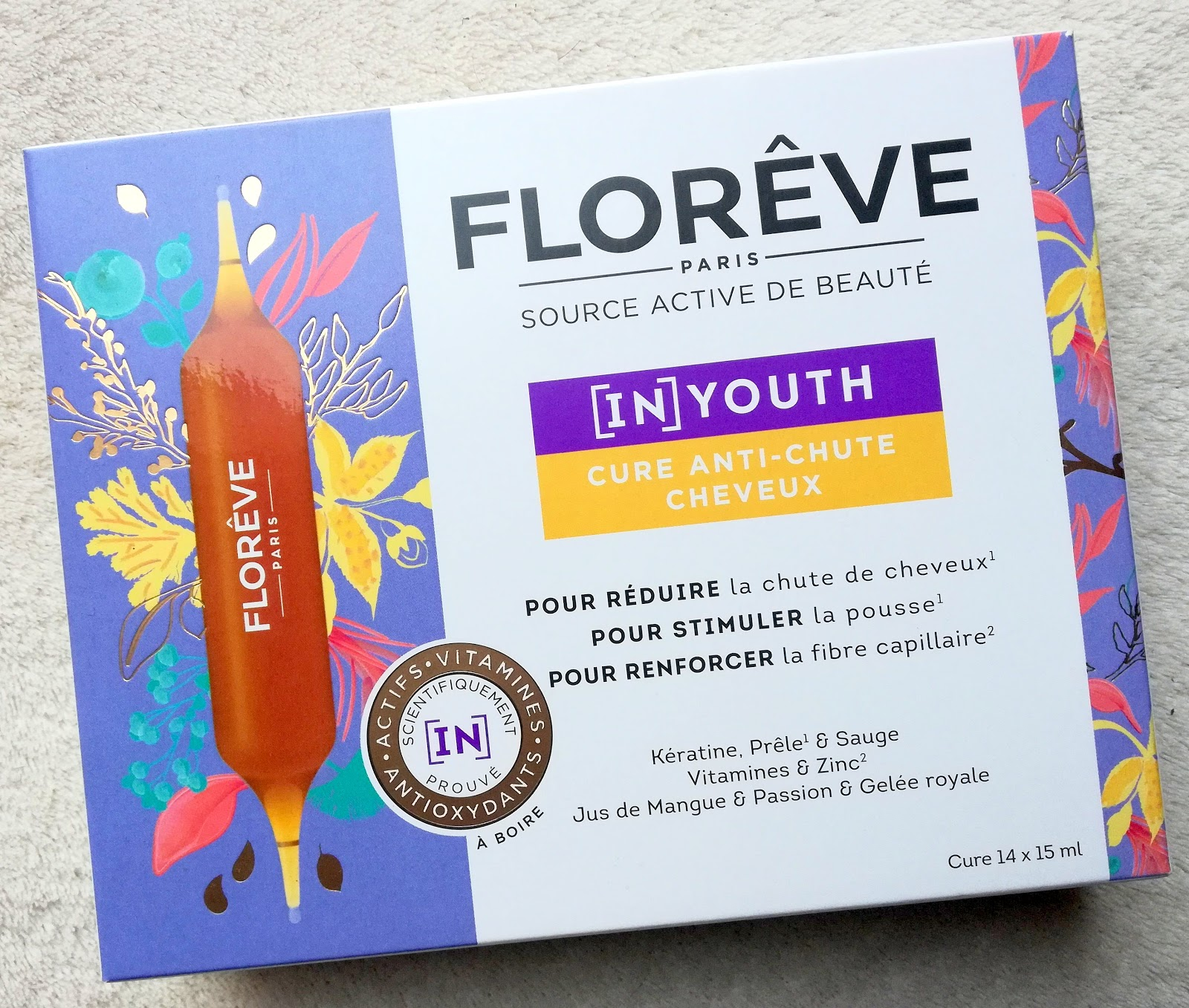 [IN] YOUTH Cure Anti-Chute Cheveux Florêve Paris