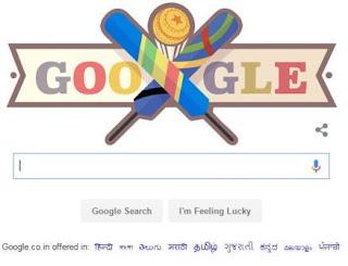 ICC World T20 2016 Google Doodle - Sri Lanka vs Afghanistan