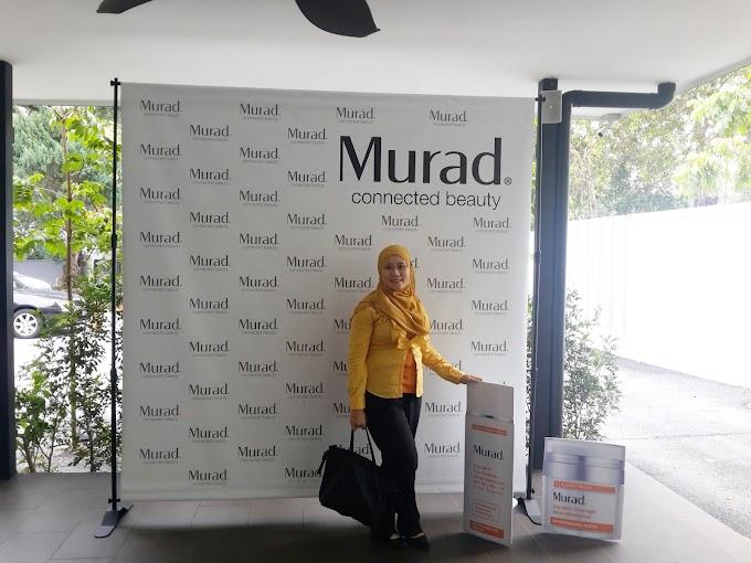 Pelancaran Murad City Skin Duo - City Skin Age Defence SPF 50 dan City Skin Overnight Detox Moisturizer.