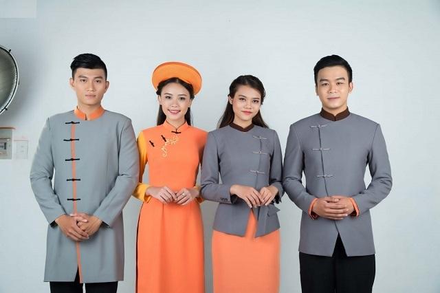 Đồng phục thể hiện sự chuyên nghiệp của khách sạn