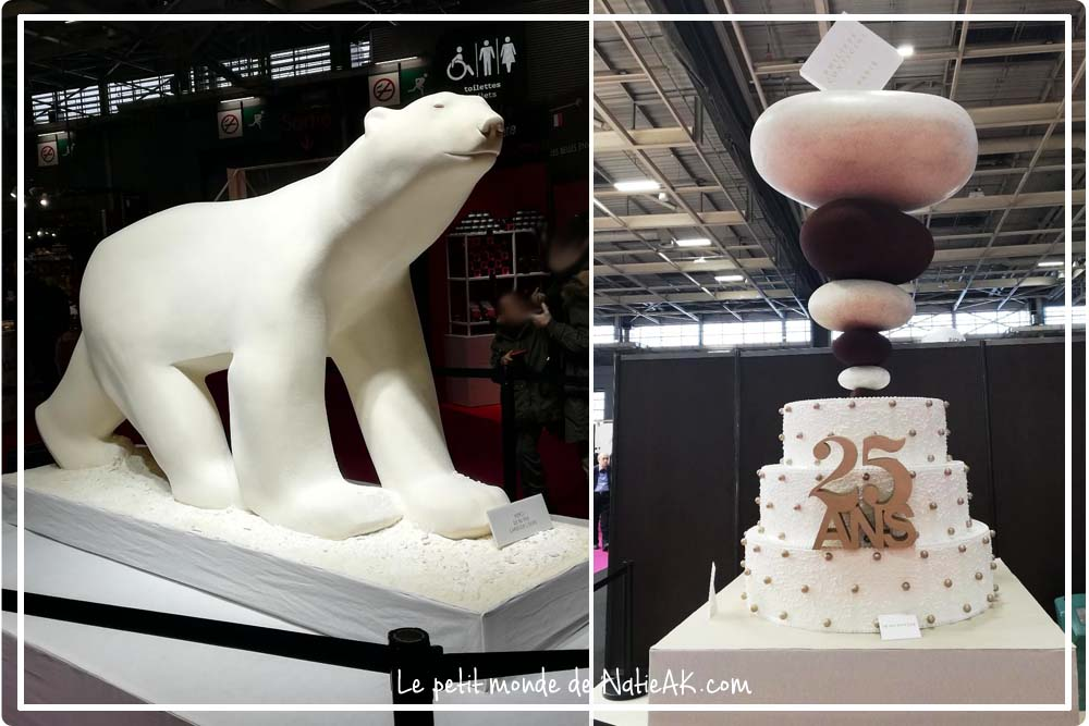 ours polaire en chocolat salon du chocolat 25 ans