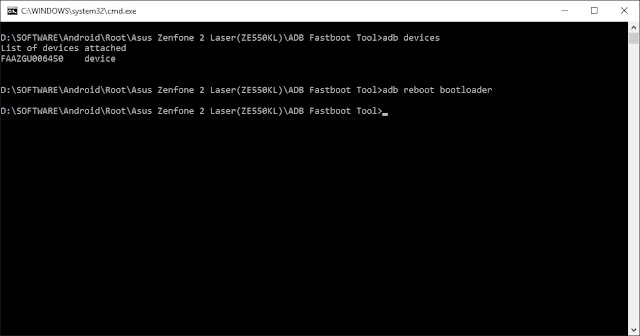 Cara Pasang TWRP Zenfone 2 Laser Via PC/Laptop