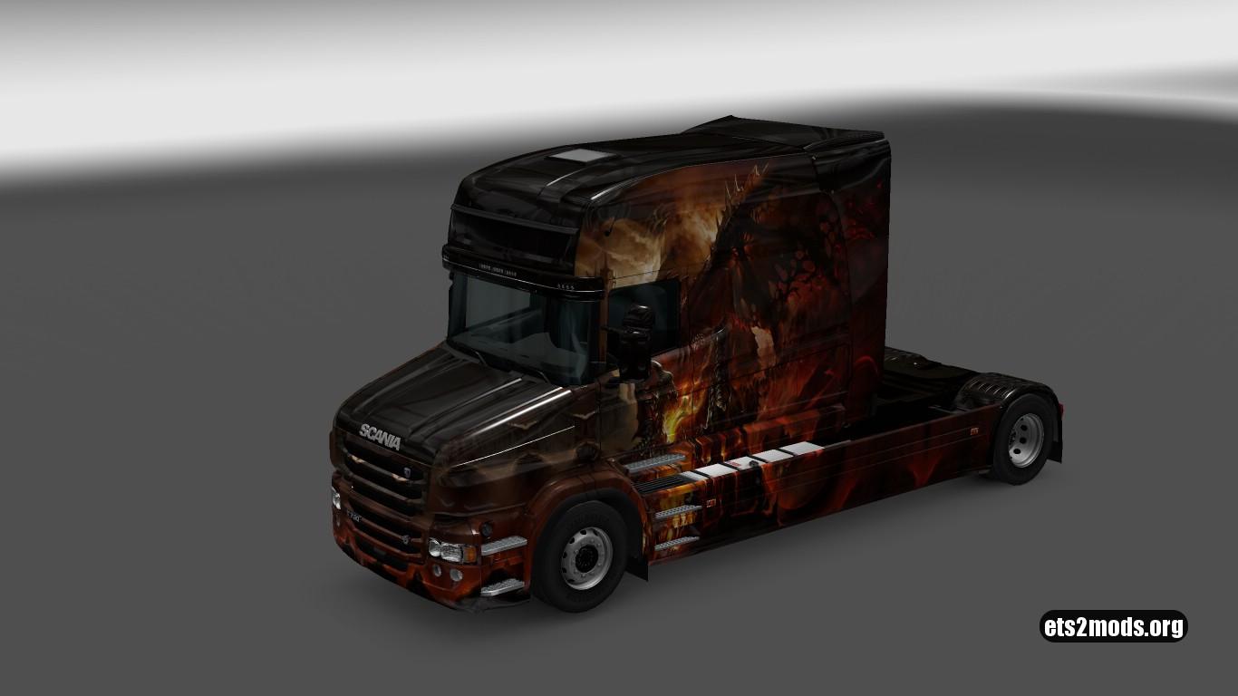 Scania T Longline Dracon Skin V 4