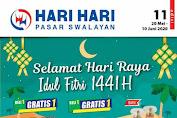 Katalog Hari Hari Pasar Swalayan Promo Terbaru 20 Mei - 10 Juni 2020