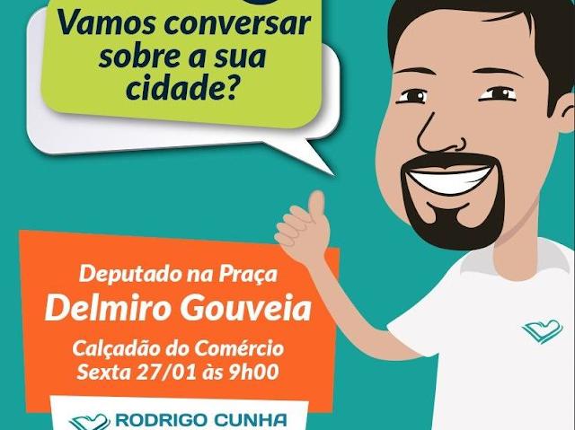 Delmiro Gouveia recebe o projeto  Deputado na Praça
