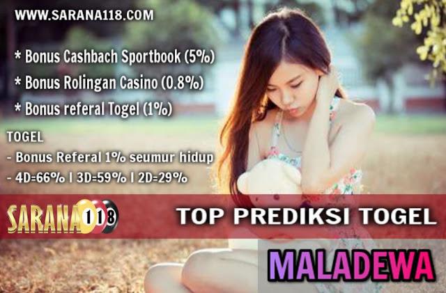 TOP PREDIKSI TOGEL MALADEWA SENIN 18-12-2017