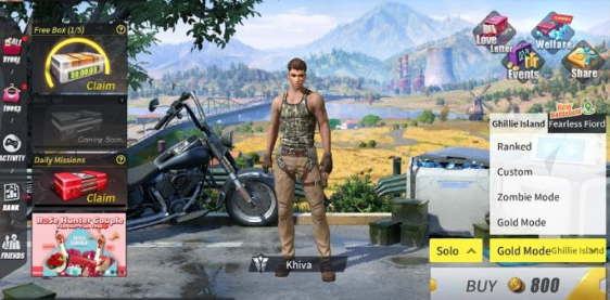 Cara Game Rules Of Survival Gold Mode Pass