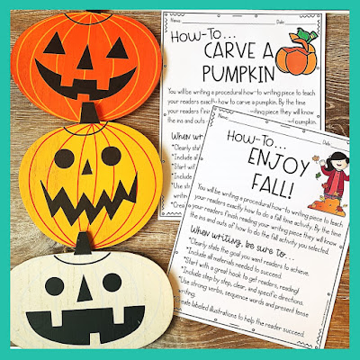 3 Easy to Implement Halloween Writing Activities for Upper Elementary