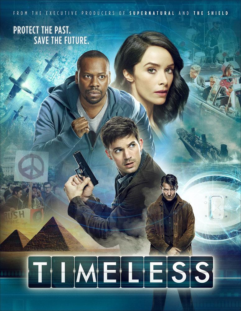 Timeless  Temporada 1  WEB DL 720p Dual Latino/Ingles