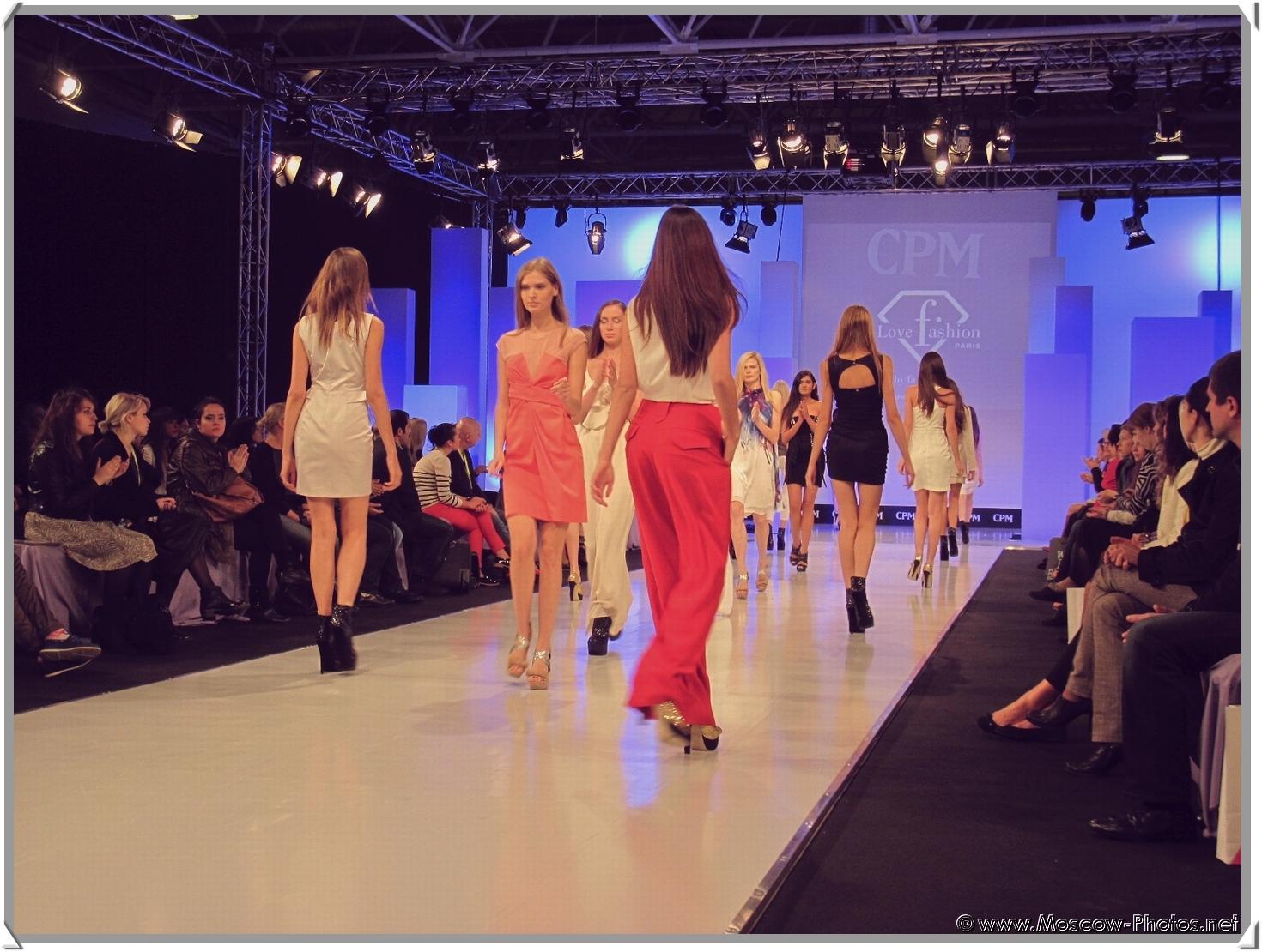 Russian Fashion Models at Collection Premiere Moscow