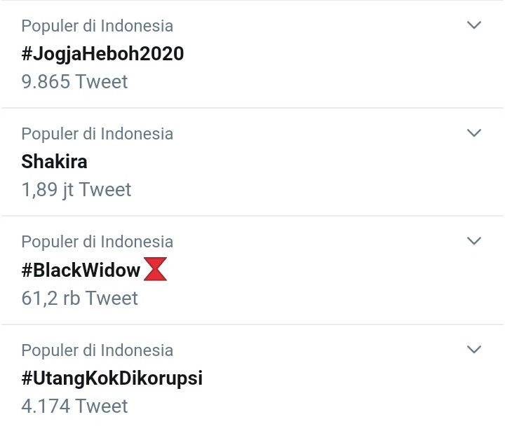 Trending #UtangKokDikorpsi, Begini Jeritan Hati Rakyat