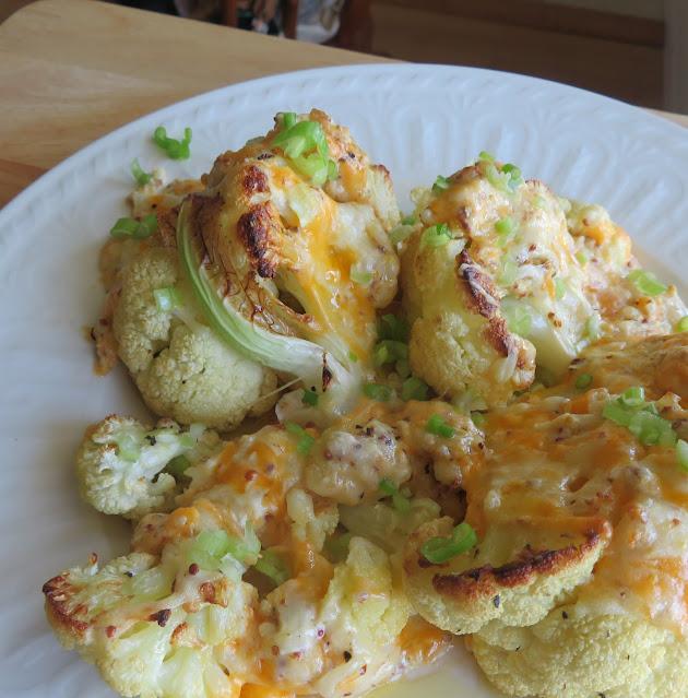 Roasted Cauliflower Cheese