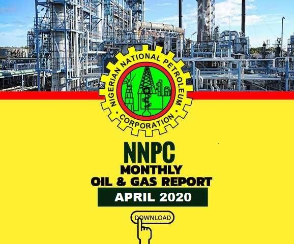 NNPC APRIL 2020 REPORT