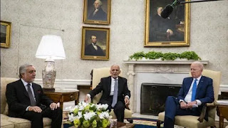 US President Biden tells Afghan leaders 'the fate of your country is now in your hands'