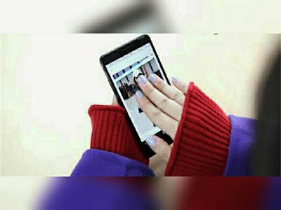 Cara Screenshot di HP Realme gunakan 3 jari