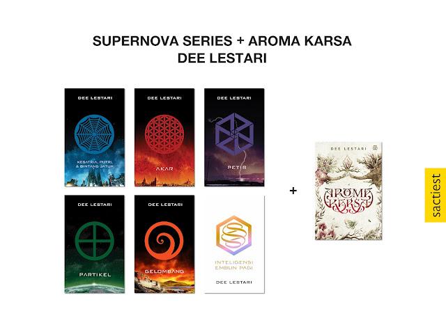 Supernova Series dan Aroma Karsa karya Dee Lestari