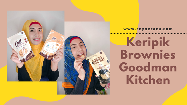 Keripik Brownies Goodman Kitchen