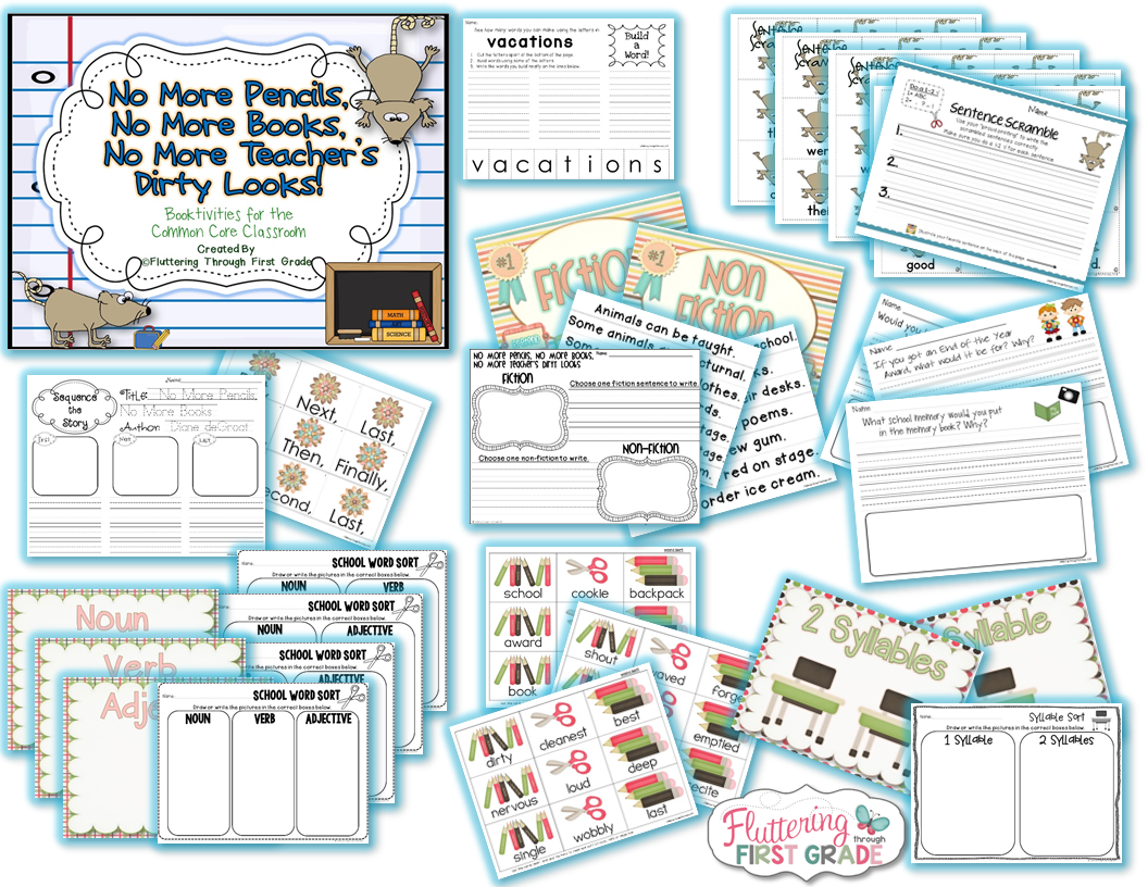 Last day of school ideas and activities for the classroom