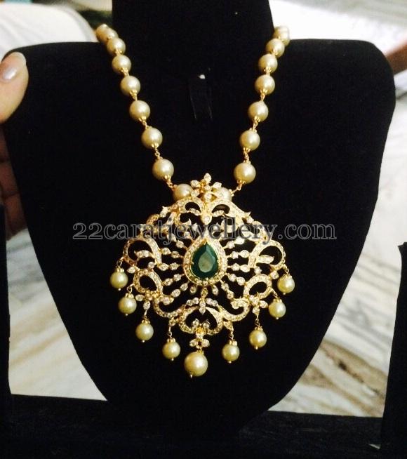 1 gram gold detachable pendant jewellery designs 1 gram gold detachable pendant aloadofball Images