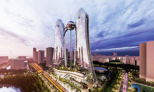 Dự án Sunshine Dragon Sky Villas Tower Tây Hồ Hà Nội - chủ đầu tư Sunshine Group