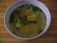 rezept vegan gemüsesuppe mit polenta suppe