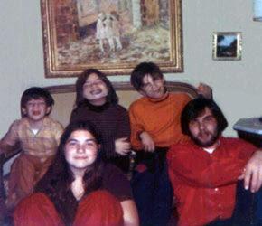 Photo des 5 enfants DeFeo