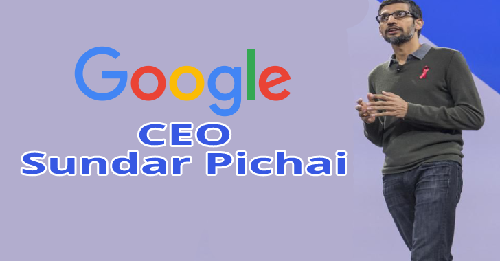 Sundar Pichai Takes Over As Google CEO : Founders Larry Page & Sergey Brin Step Down