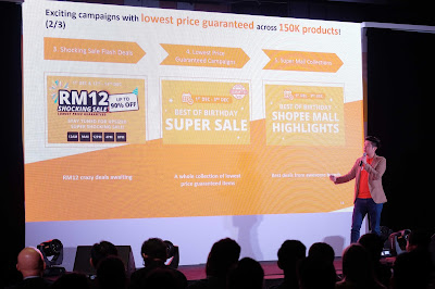 SHOPEE CELEBRATES BIRTHDAY WITH ABOUT 80 MILLION DOWNLOADS ACROSS THE REGIONWITH MORE THAN 200,000 SELLERS AND BRANDS ON BOARD, SHOPEE IS THE PLATFORM OF CHOICE FOR MALAYSIAN BUSINESSES TO GO ONLINE