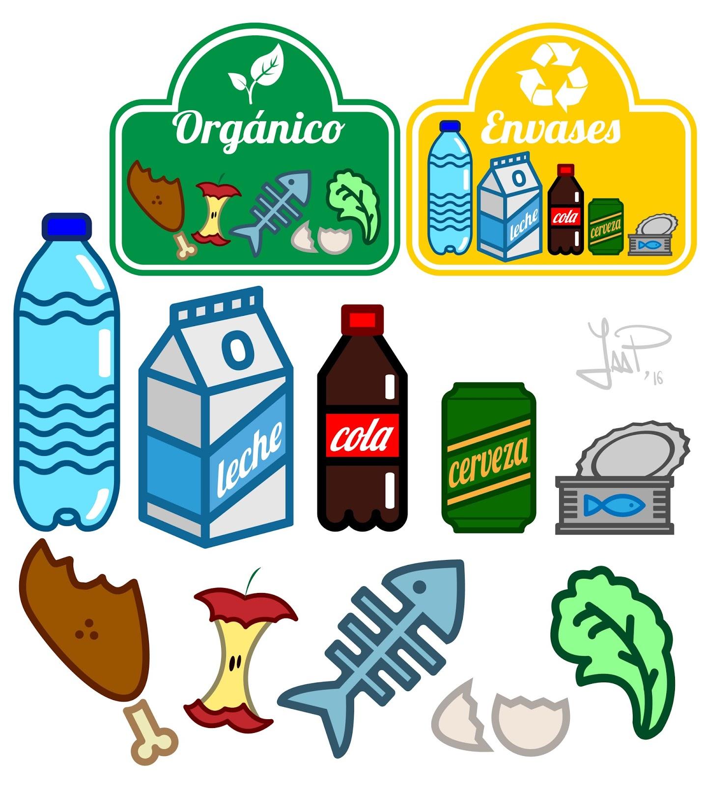 Reciclar organico gallery of los colores del reciclaje for Suelo organico dibujo animado