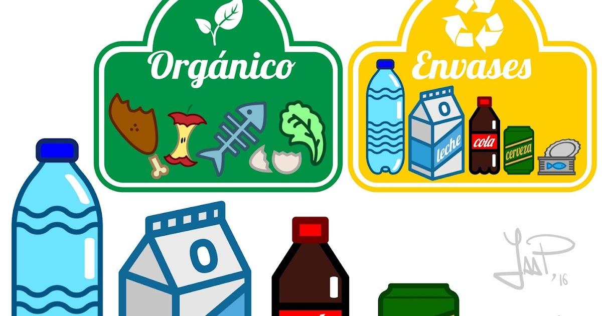 Dibujos Vectoriales Para Concienciar Sobre El Reciclaje