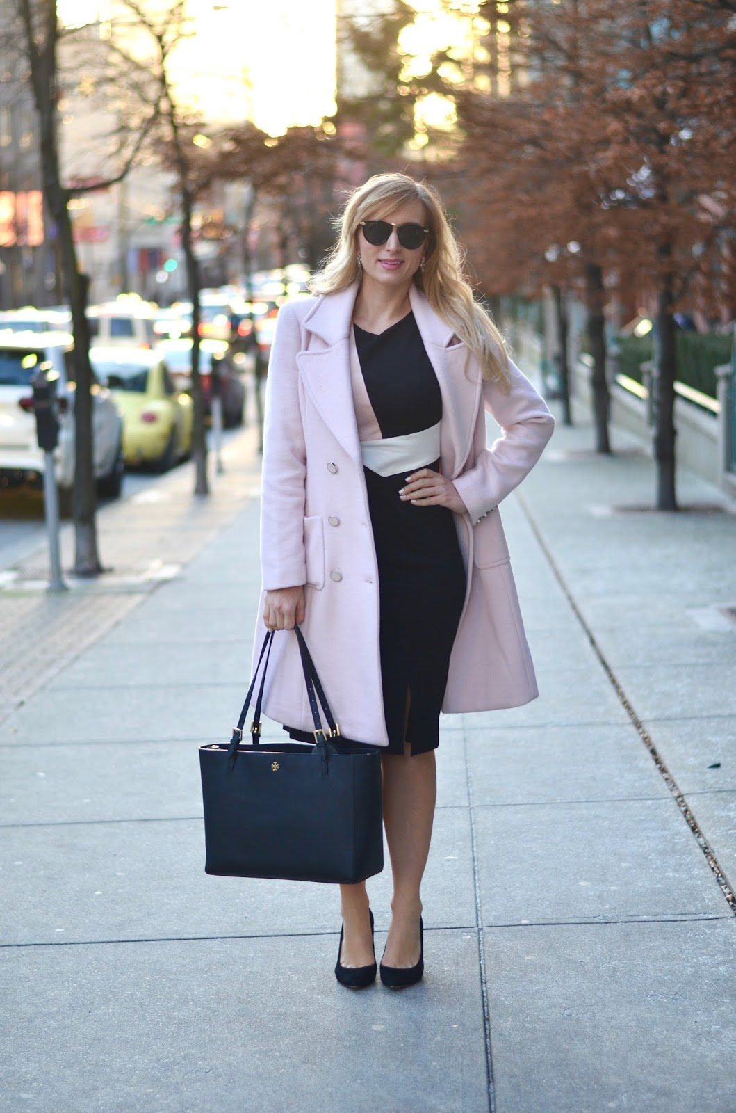 business casual feminine outfit