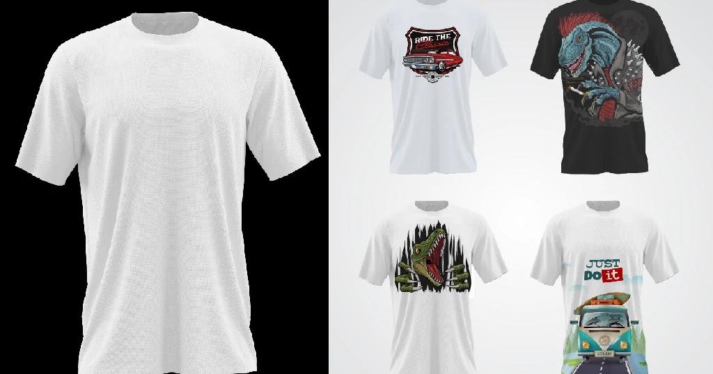 Download Kaos Cdr Cara Mudah Membuat Desain Kaos Coreldraw Templatekita Com