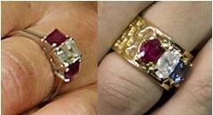 Danish Wedding Ring Right Hand