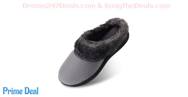 70%OFF Women's Memory Foam Slippers Size: Small