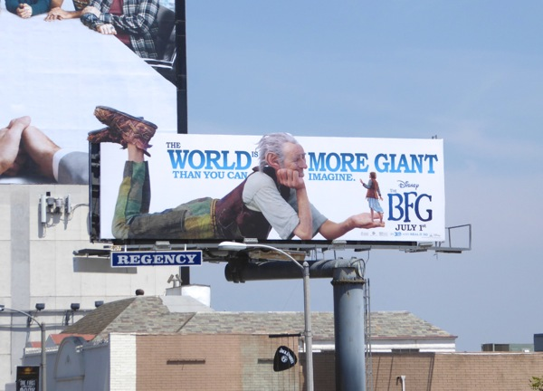 world more giant than you can imagine BFG movie billboard