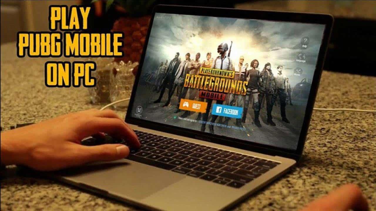 cara main pubg mobile di laptop pc