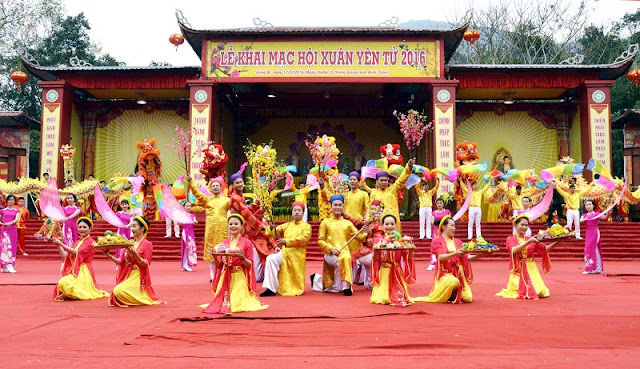 10 interesting festivals on the first lunar month in the north of Vietnam 3