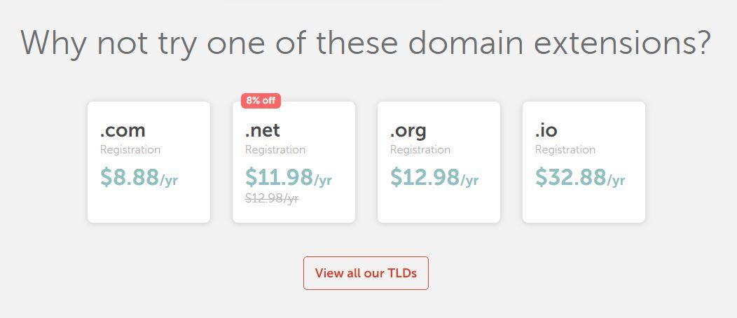 Namecheap cung cấp giá thấp nhất trên thị trường. Đăng ký tại Namecheap & Lưu