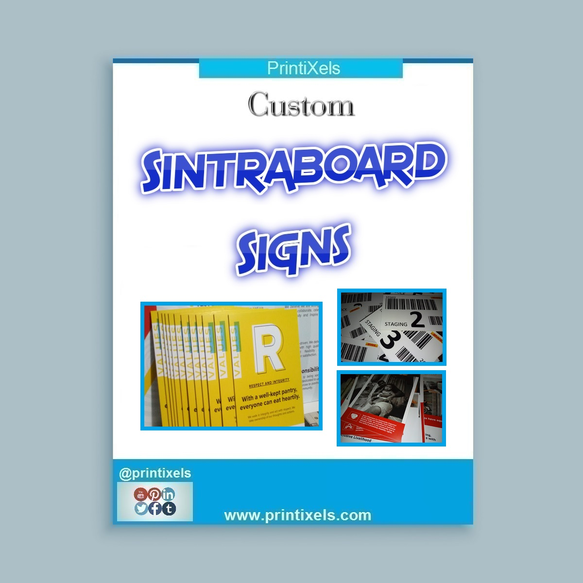 Sintraboard Signs, Custom Sintra Board Posters Philippines