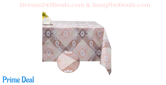 Tablecloth Vinyl Rectangle Waterproof 50% OFF