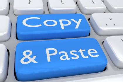 The Dangers Of Copy Paste Other People's Articles | Read how the following ways Peace despite the Copy Paste